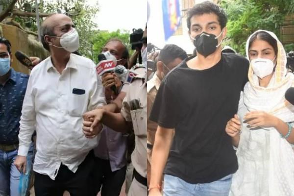 rhea chakraborty father drug addict son showik arranged drugs for him
