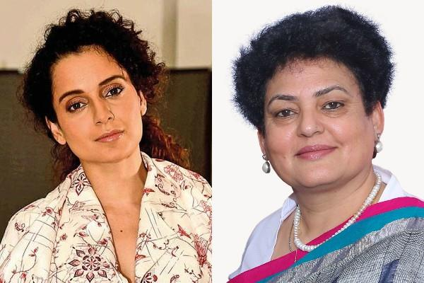 women commission chief supports kangana and demands arrest shiv sena mla
