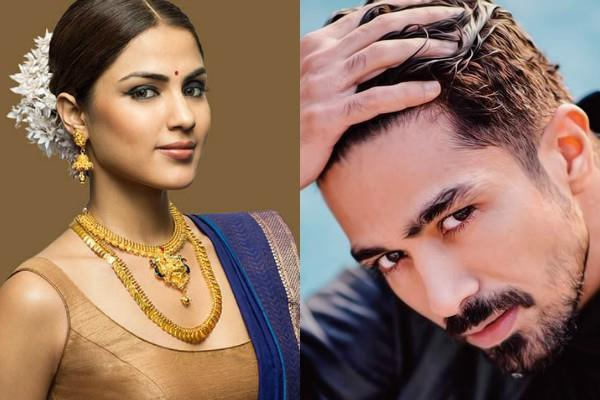 user abused to saqib saleem for supporting rhea actor his screenshort