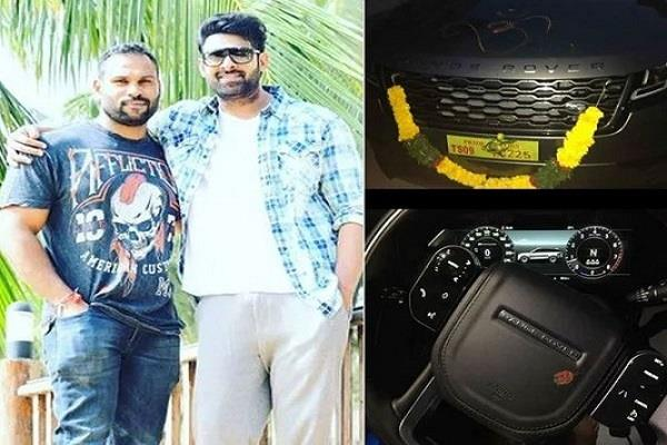 prabhas gifts range rover car for fitness trainer