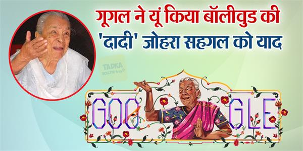 google doodle celebrate zohra sehgal neecha nagar released