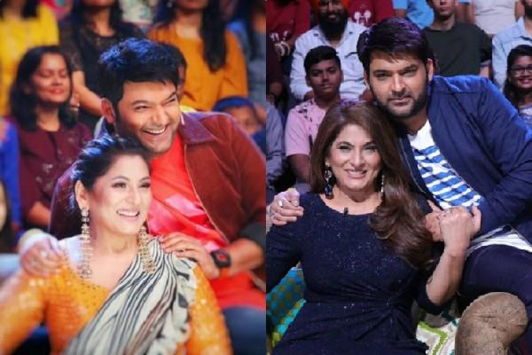 kapil sharma wishes archana puran singh on her 58th birthday