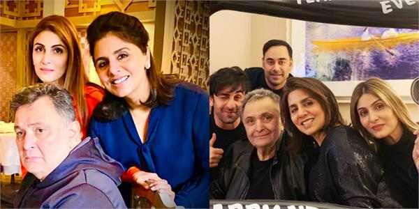 riddhima kapoor shares an emotional post on late father rishi kapoor birthday