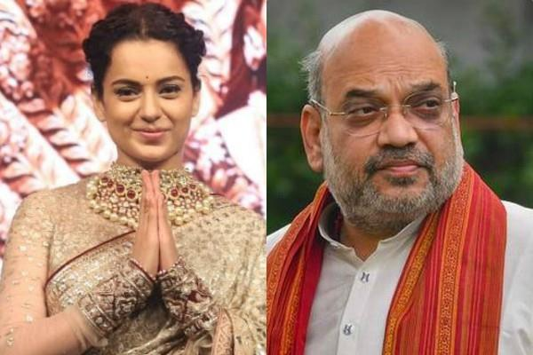 central government gave y security to kangana ranaut actress thanks amit shah