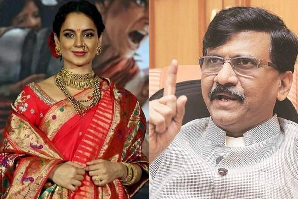 kangana ranaut reaction on sanjay raut statement