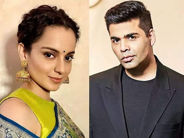 kangana ranaut mocks karan johar new book calls him murderer of sushant