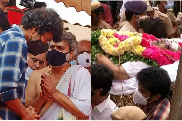thalapathy vijay attends last rites of sp balasubrahmanyam