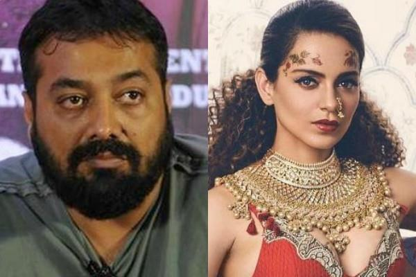 kangana ranaut shares old video of anurag kashyap accused of exploiting child