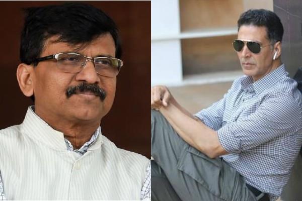 after kangana sanjay raut targets akshay kumar