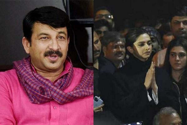 manoj tiwari take dig on deepika padukone name in drug case