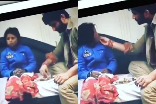जब सुशांत ने भूखी बच्ची को अपने हाथों से खिलाया था खाना, वीडियो वायरल