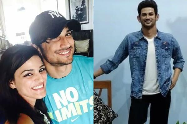 sushant sister shweta gets emotional after seeing actor wax statue