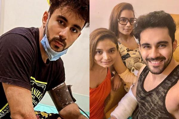 abhishek bajaj and her sisters meets with car accident