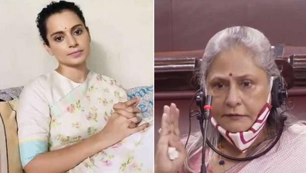 kangana ranaut once again target jaya bachchan on her statement