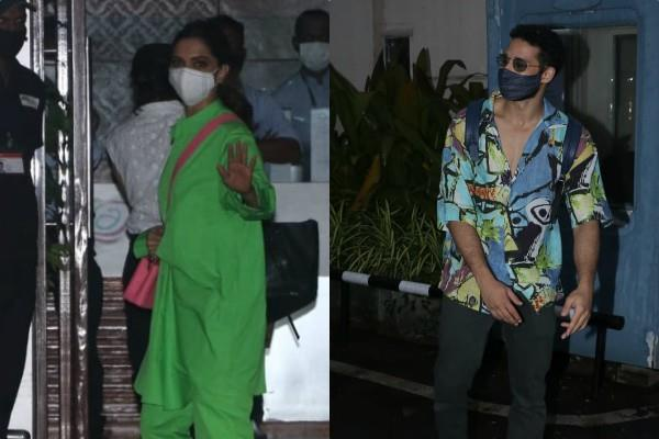 deepika padukone jets off to goa with sidharth chaturvedi for shooting