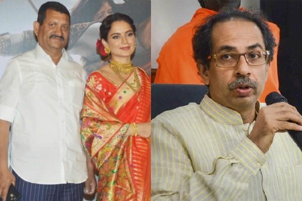 kangana father amardeep ranaut reaction on daughter dispute with shiv sena