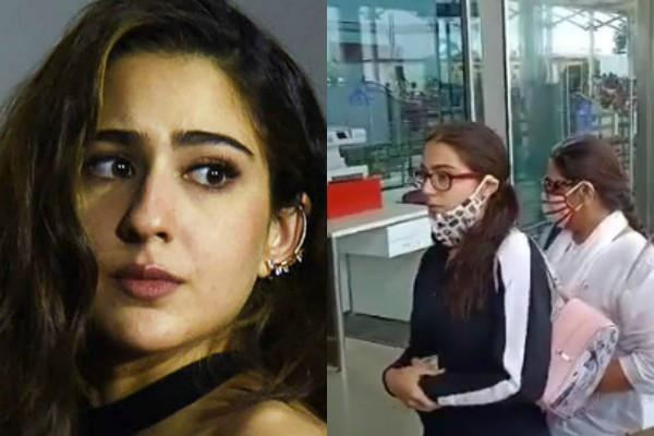 sara ali khan leaves for mumbai from goa as she gets ncb summons in drug case