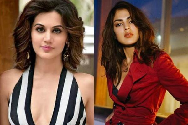 taapsee trolled for tweeting about rhea chakraborty