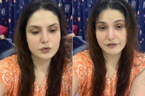 zareen khan angry on lilavati hospital