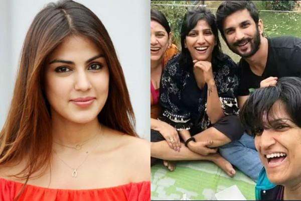 rhea chakraborty filed case against sushant sister priyanka and dr trun