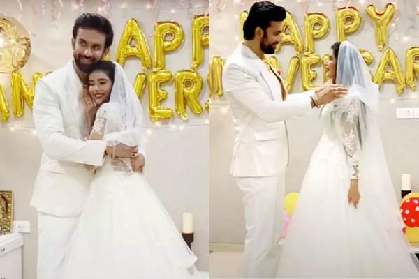 charu asopa and rajeev sen celebrate first wedding anniversary