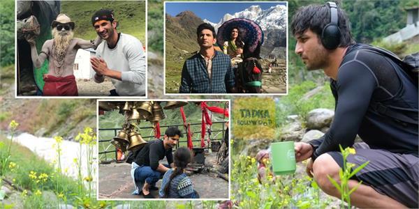 kedarnath director abhishek kapoor share video of sushant with emotional message