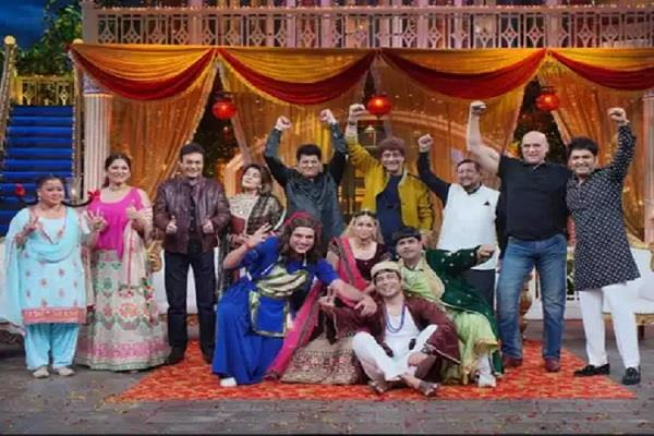mahabharata  star cast reached the kapil sharma show