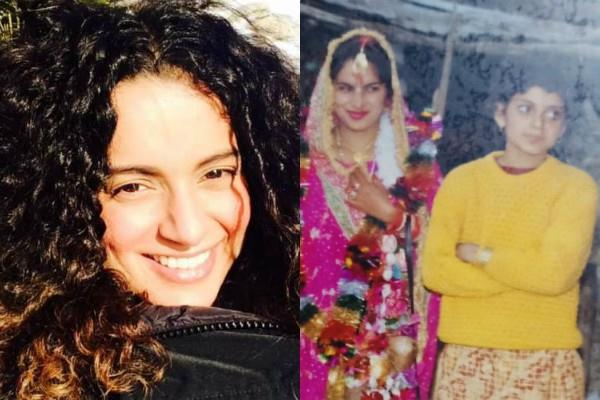 kangana ranaut tweeted her mother adopted dalit woman daughter got her married
