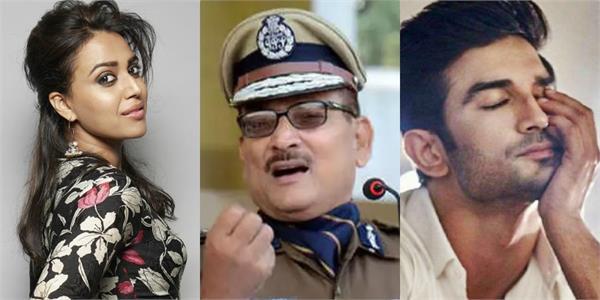 swara bhaskar take a dig on bihar ex dgp gupteshwar pandey
