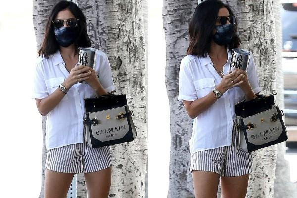 lucy hale spotted in los angeles
