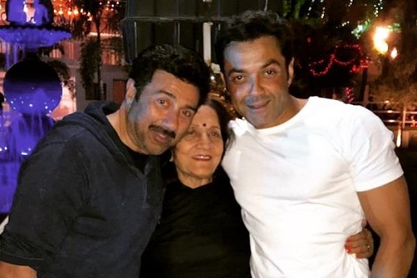 sunny and bobby deol shared special post on mother prakash kaur birthday