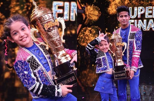 florina gogoi and her super guru tushar shetty win super dancer chapter 4