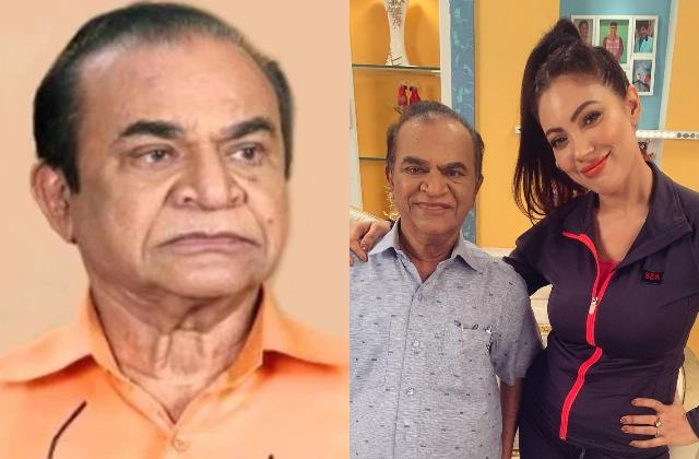 munmun dutta pay tribute to nattu kaka aka ghanashyam nayak