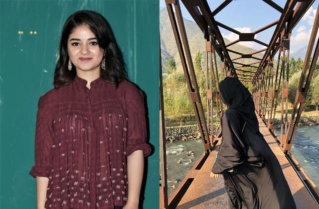 zaira wasim shares first photo on instagram two years after quitting bollywood