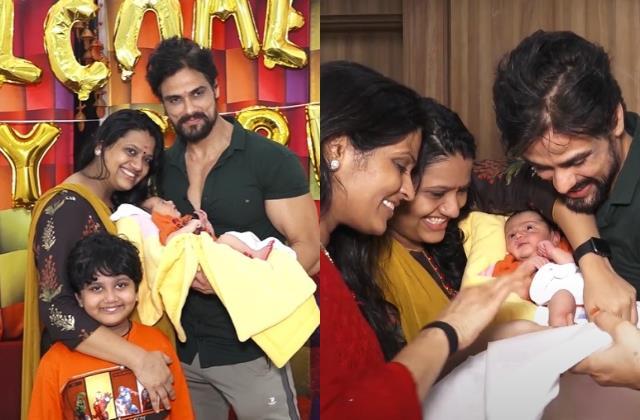 mahabharat fame arpit ranka welcome baby girl on first day of navratri