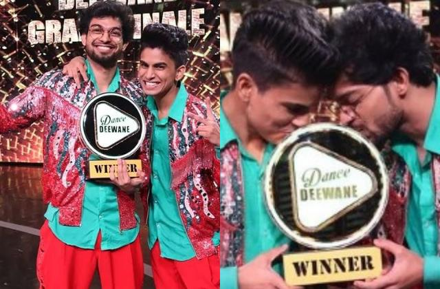 piyush gurbhele and rupesh soni win dance deewane 3 trophy