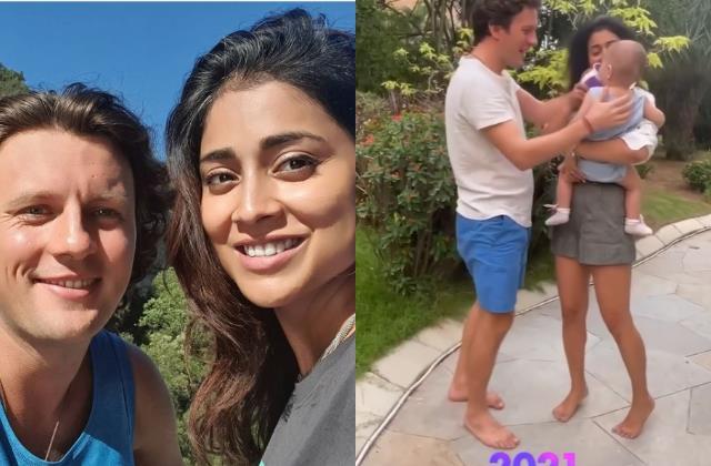 drishyam actress shriya saran blessed with a baby girl