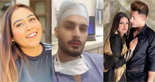asim riaz himanshi khurana support umar riaz after afsana khan doctory comment