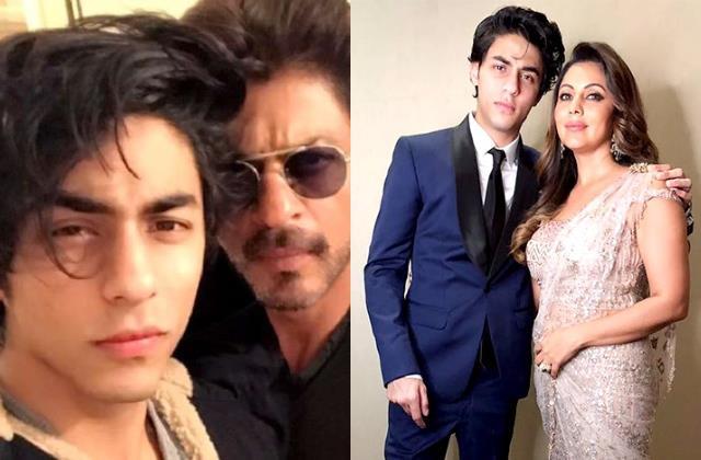 aryan khan break down in tears after shahrukh khan comes to meet him