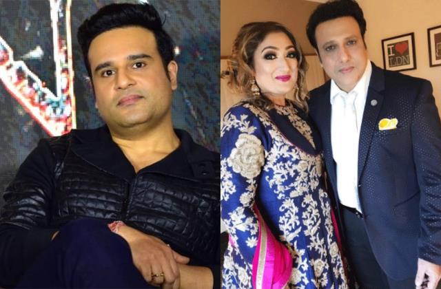 comedian krushna abhishek talks about family dispute with mama govinda