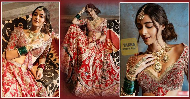 chunky pandey daughter ananya pandey got bridal photoshoot