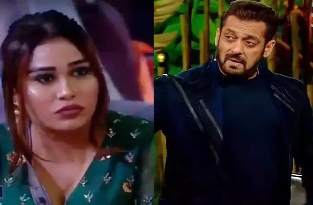 bigg boss 15 salman khan lashes out afsana khan