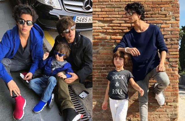 when shahrukh revealed how aryan shaken by rumours of him being abram father