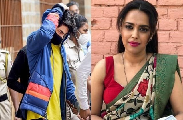 swara bhaskar disappointed by aryan khan not getting relief in drugs case