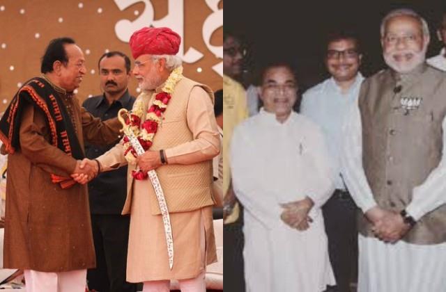 pm narendra modi mourns at the demise of arvind trivedi and ghanashyam nayak