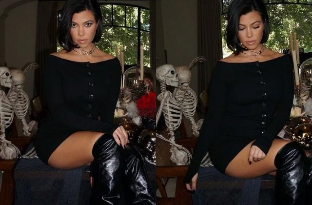 kourtney kardashian shares her bold photos