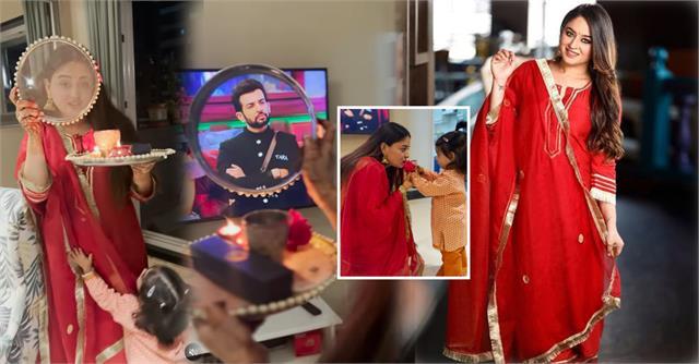mahhi vij to break her karwa chauth fast with bigg boss 15 weekend ka vaar