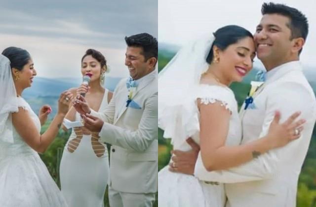 neha bhasin shares marriage photos on wedding anniversary