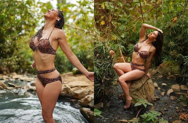 lauren gottlieb flaunts her toned body in latest pictures