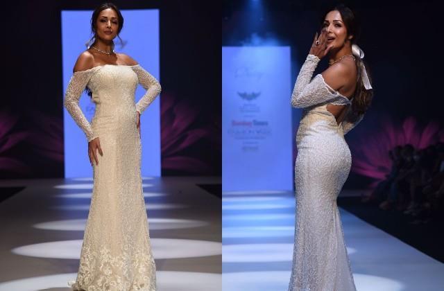 malaika arora looks gorgeous in white gown